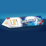Gel Dental UP!.<br /> Ação Total com Óleo de Cravo e Menta.